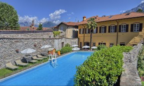 Ferienanlage mit Pool in Domaso am Comer See