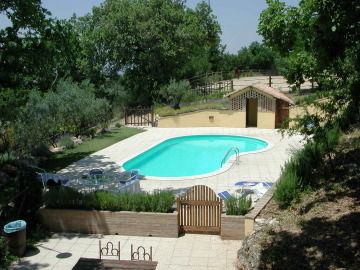 Ferienhaus Umbrien Assisi Pool